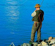 Feriehus til sportsfiskere
