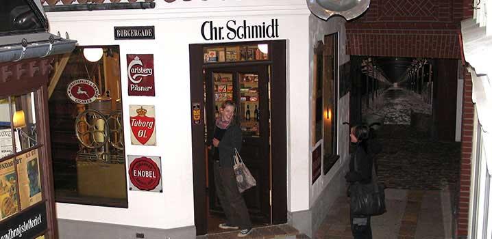 Købmandsbutikken på hjørnet i en del af Esbjerg Museum / Købmandsbutik