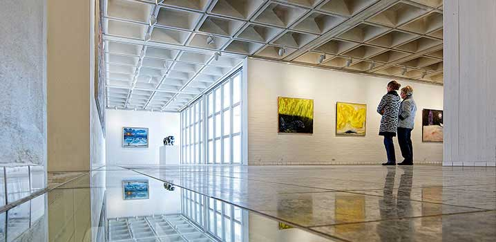 Der Färch-Flügel des Holstebro Kunstmuseums / Holstebro Kunstmuseum