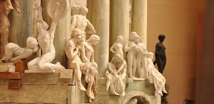 """Skulpturen """"Livets Port"""" i Rudolph Tegners Museum og Statuepark / Rudolph Tegners Museum og Statuepark"""