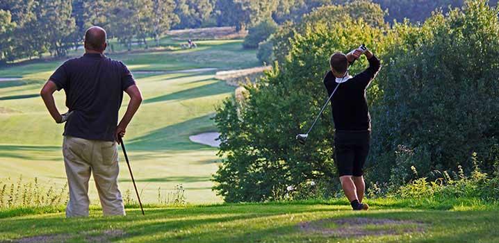 Golfbanor, Danmark