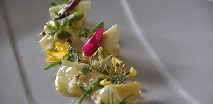 Ein Beispiel der Neuen Nordischen Küche (Michelin-Restaurant Geranium)