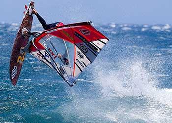 Übernachtung für die PWA World Tour Windsurfing