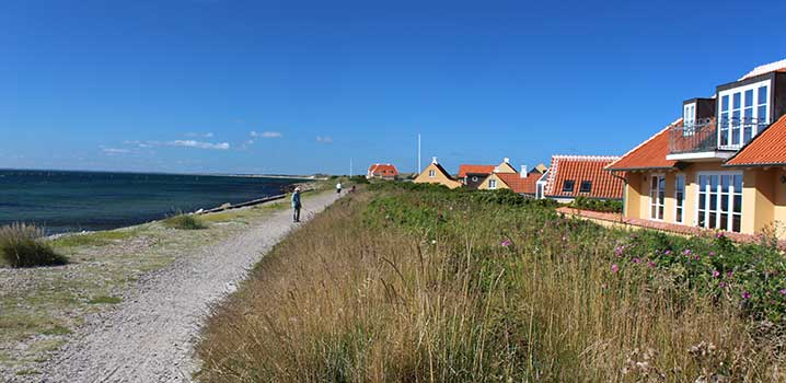 When you rent a holiday home in Skagen you are in picturesque surroundings