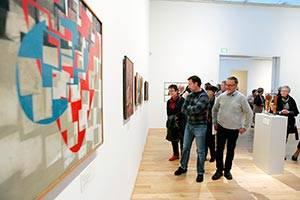 Udsnit af udstilling