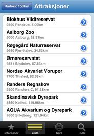 Gratis app med 1500 attraksjoner