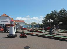 Minigolf course in the centre of Blokhus