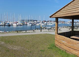 I Bogense finder I en stor og hyggelig lystbådehavn med mange faciliteter