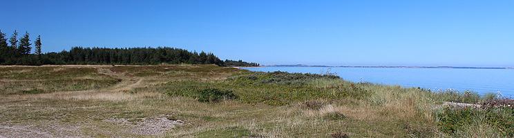 Die Limfjordinsel Fur ist von ungestörter und schöner Natur geprägt