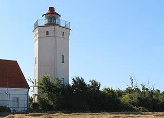 Gedser Fyr på Gedser Odde er Danmarks sydligste fyrtårn
