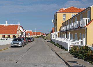 En af de hyggelige gader i Gammel Skagen