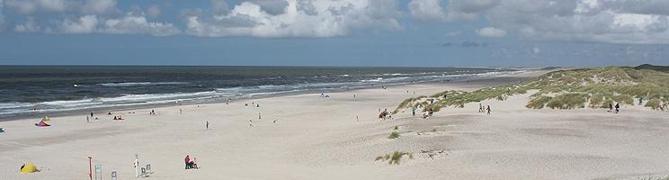 Henne Strand byder på en dejlig, bred sandstrand med høje klitter, byliv og sommerhuse i naturskønne omgivelser