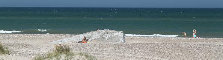 Sommertag am Strand von Kollerup