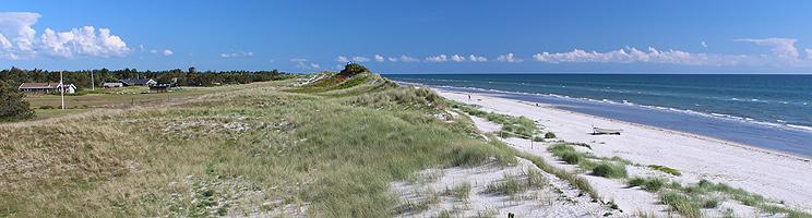 Lyngså bietet einen schönen, kinderfreundlichen Sandstrand mit Dünen