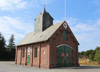 Redningsstationen ved Rømø, Vadehav fungerer i dag som øens brandstation