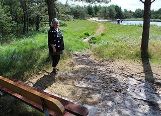 Når I holder ferie i Rømø, Vadehav bor I ved skønne plantager med søer og vandrestier