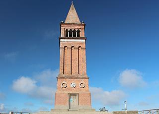 Tårnet på toppen af Himmelbjerget ved Silkeborg