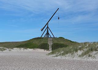 Vippefyret bag Sønderstrand i Skagen Østerby