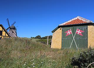 Redningshus ved Skagens By og Egnsmuseum i Skagen Vesterby