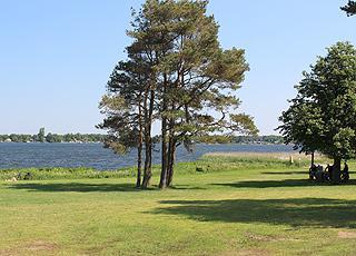 Grønt, rekreativt område ved Sunds Sø