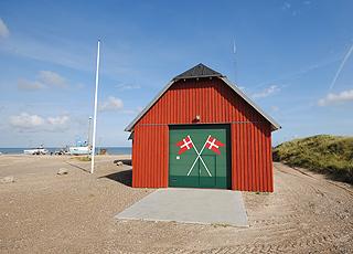 Redningshuset i Thorup Strand