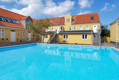 Holiday apartment in a town, 95-5019, Gudhjem
