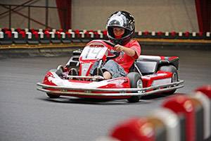 Barngokart på Action House Løkken