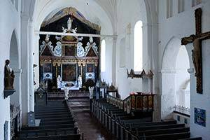 Udsnit af kirkerum