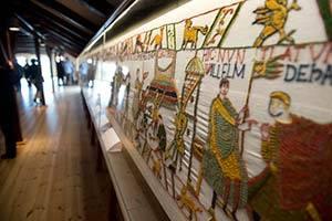 Detalj av dansk Bayeuxtapet