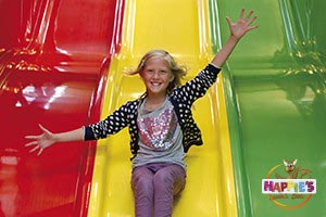 Slide with a girl