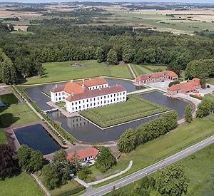 Clausholm Slot Luftfoto