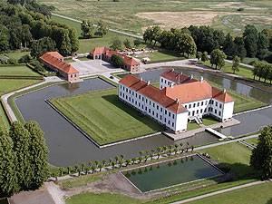 Clausholm Slot Luftfoto Nordost