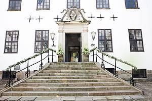 Clausholm Slot Eingang