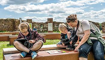 Danmarks Borgcenter byr på festlige og utfordrende aktiviteter for hele familien