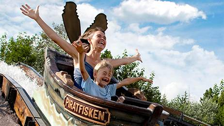 The popular ride; Piratfisken