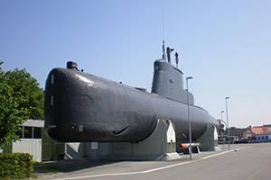 Submarine by the frigate Peder Skram