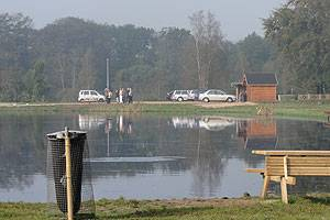 Naturskøn fiskesø samt børnesø i Hovborg Put and Take