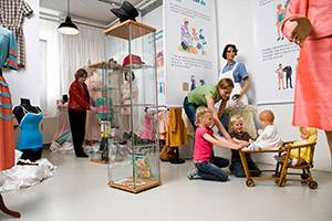 Garderoben på Industrimuseet