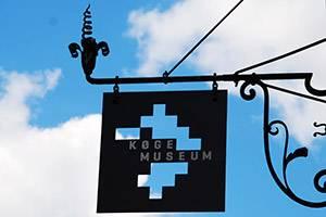 Køge Museum skilt