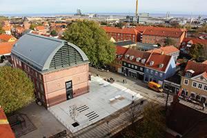 Luftfoto af KØS