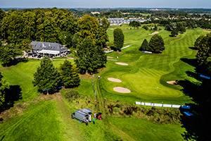Luftfoto av Kokkedal Golfklub