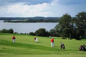 Utsikt från golfbanan