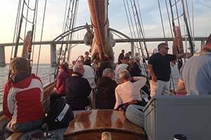 Passengers on the schooner Meta