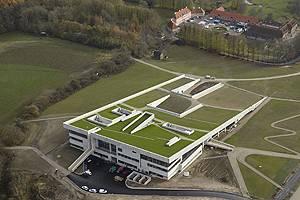 Aerial photo of Moesgaard Museum