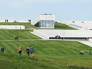 Take a walk on the roof of Moesgaard Museum