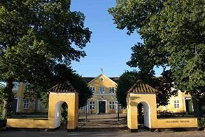 Hovedgårdens facade