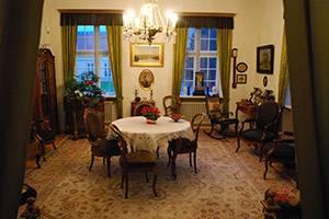 Jones stue på Museum Silkeborg