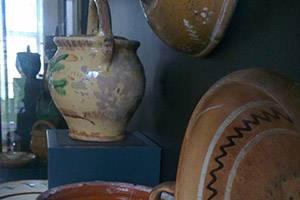 Sorring lertøj på Museum Silkeborg