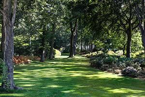 Der Garten von Nivaagaard