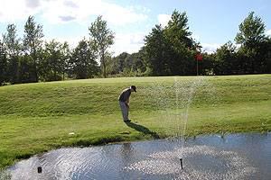 Øland Golfklub hul 18